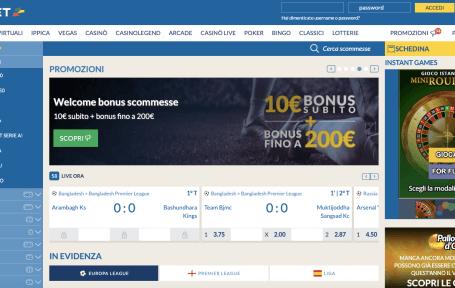 Eurobet Screenshot