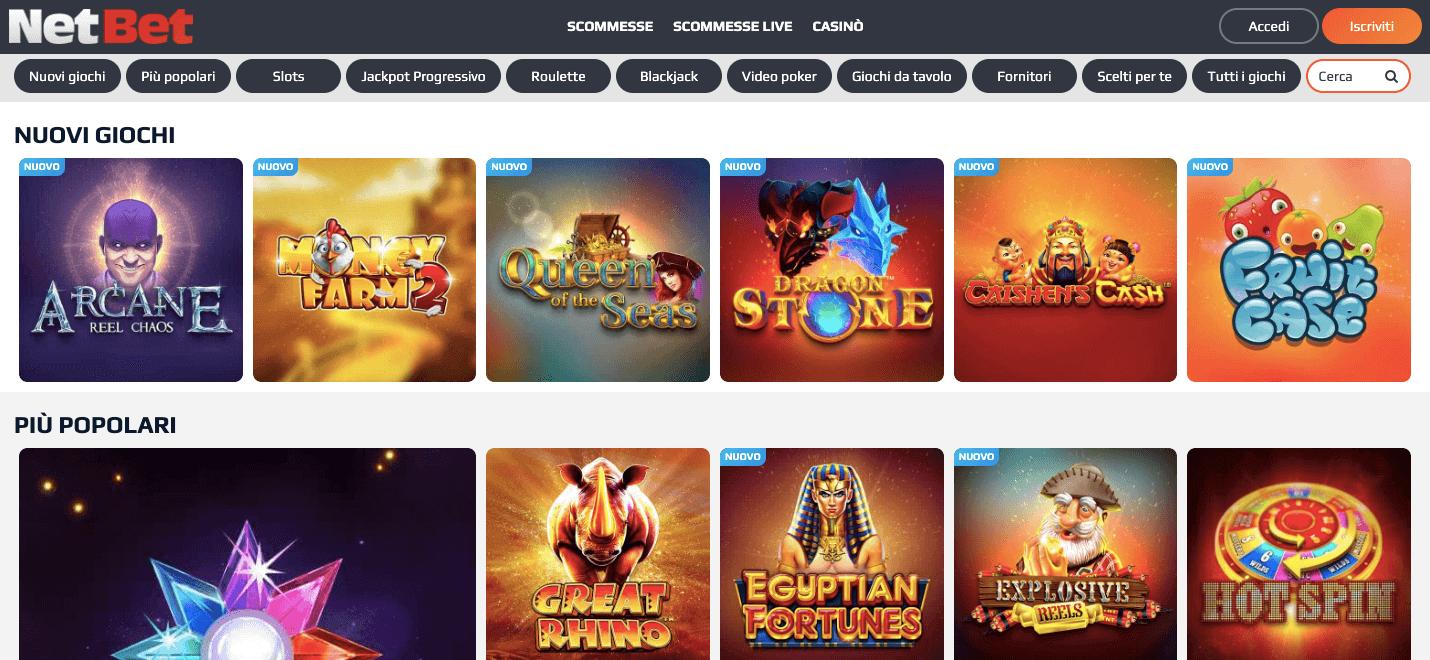 netbet casino online