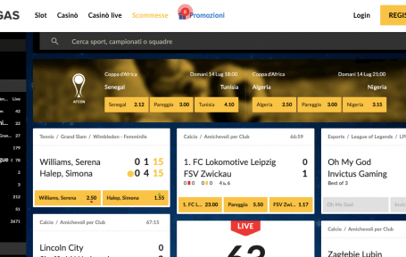 Starvegas Scommesse Screenshot