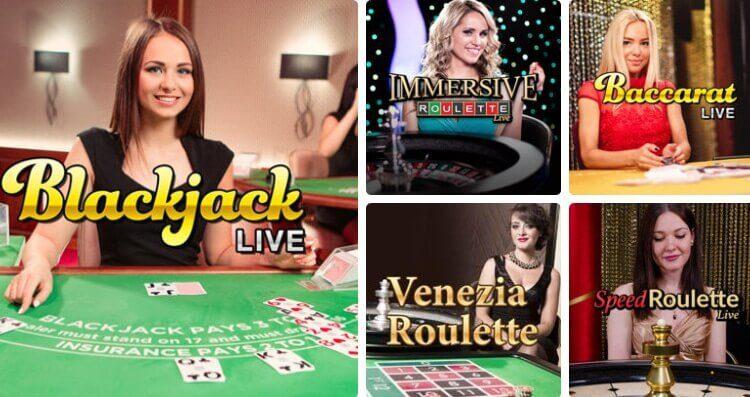 gioco digitale casino live