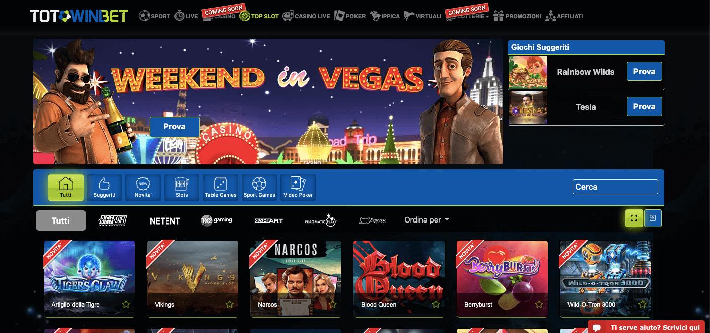 totowinbet casino slot