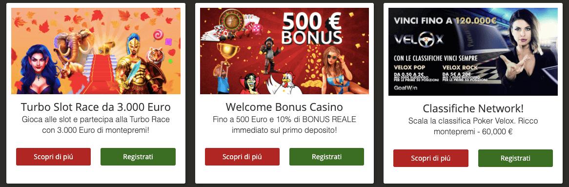 goalwin bonus