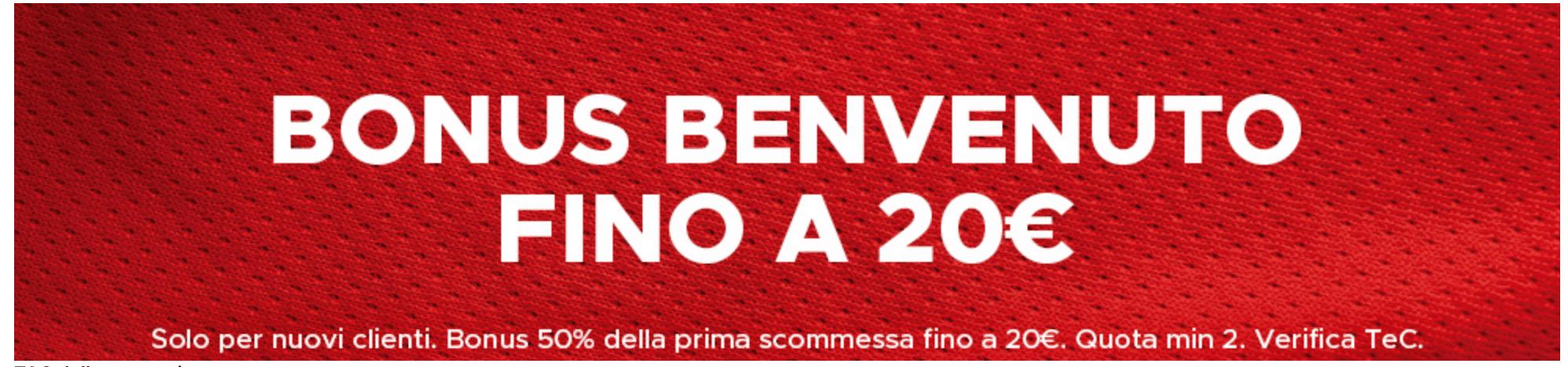 betclic bonus scommesse