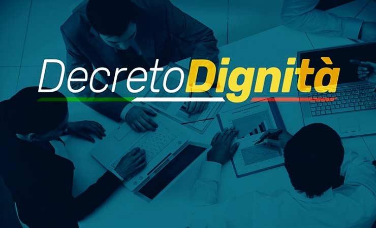 decreto dignita casino online