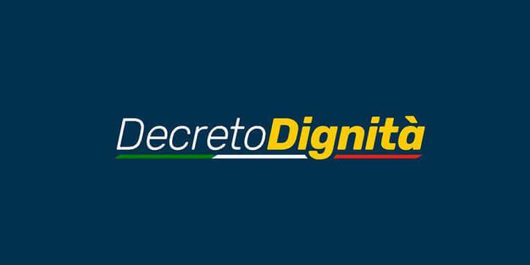 decreto dignita