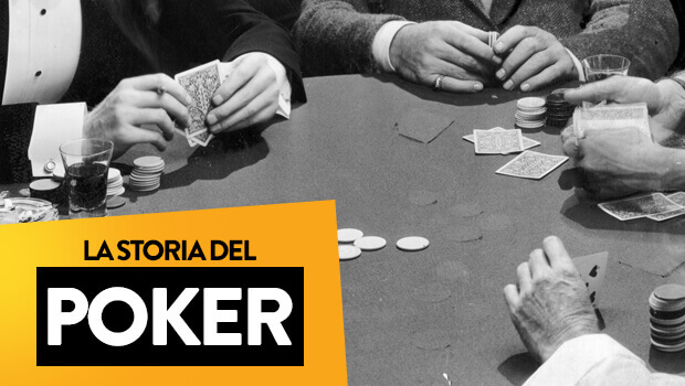 storia del poker