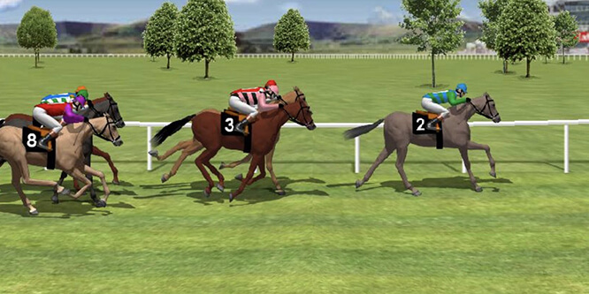 scommettere corse cavalli virtuali