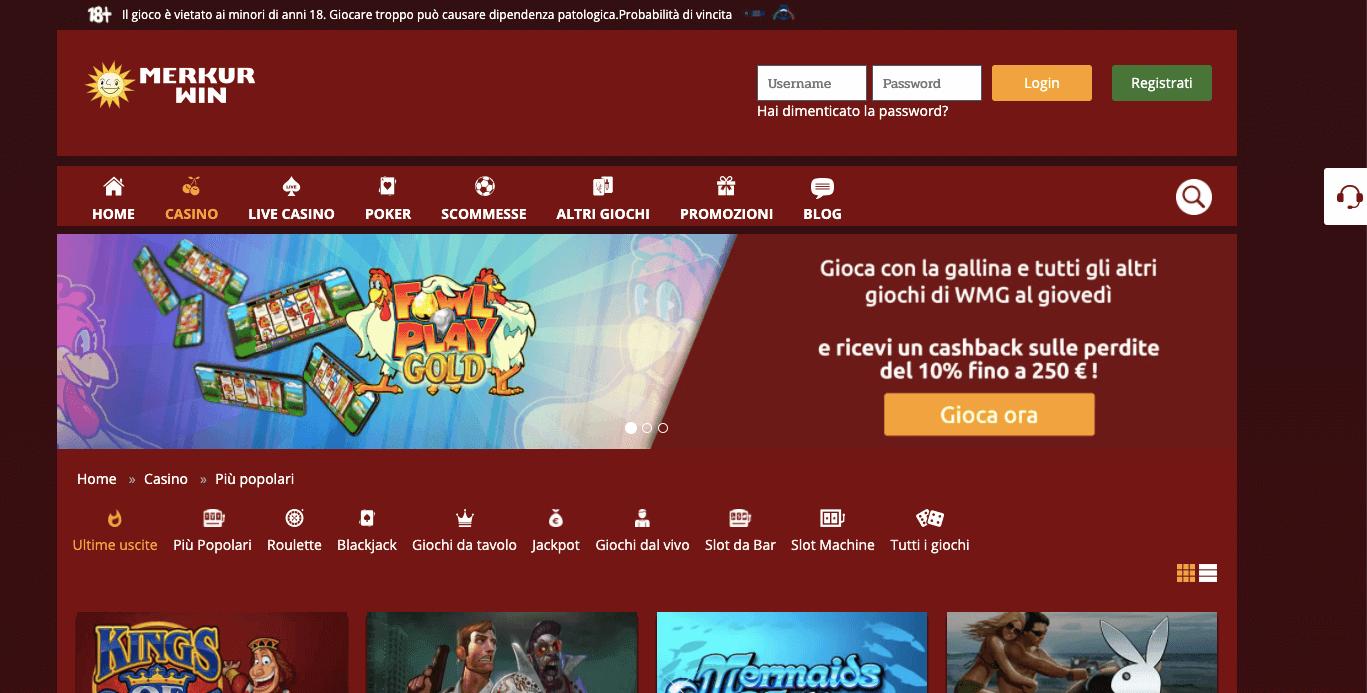 Merkur Online Casino Paysafecard