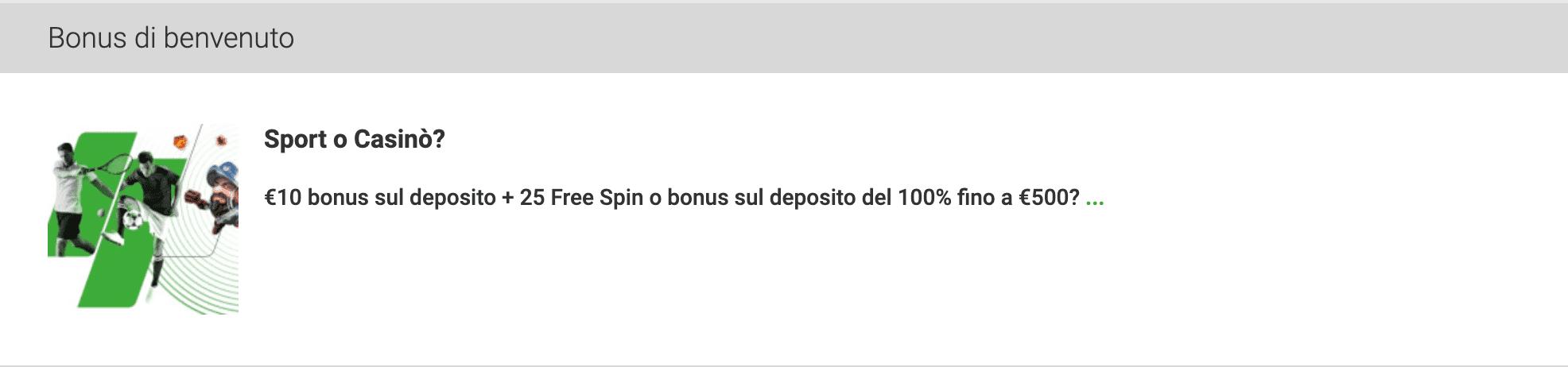 unibet casino bonus ottobre