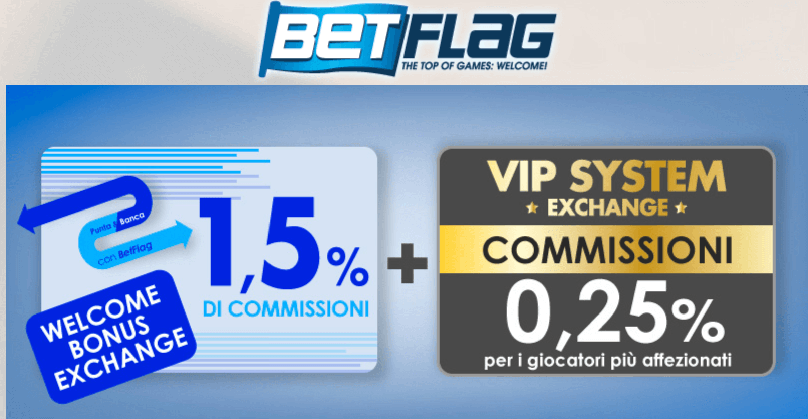 bonus betflag betting exchange