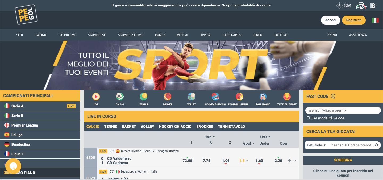 Pepegol Sport Screenshot