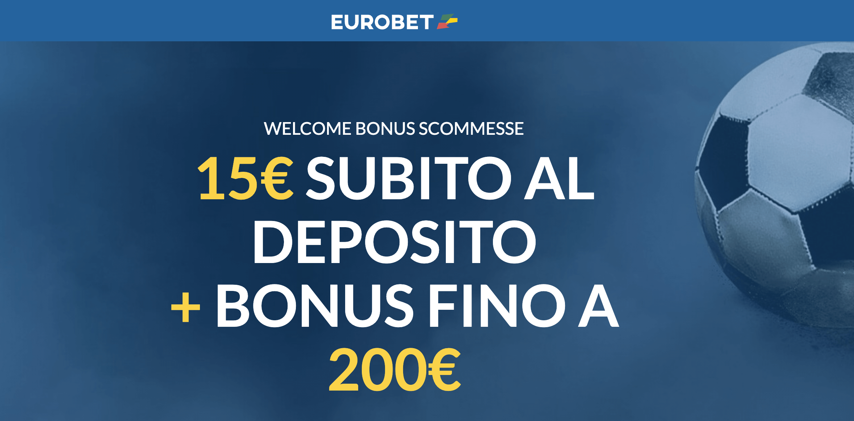 eurobet scommesse bonus benvenuto 2021