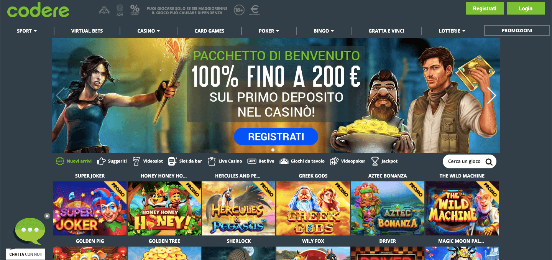 Codere Casino Screenshot