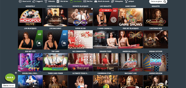 Codere Casino Live