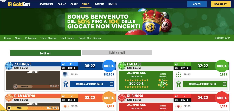 GoldBet Bingo