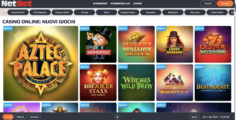 NetBet Casino Slot