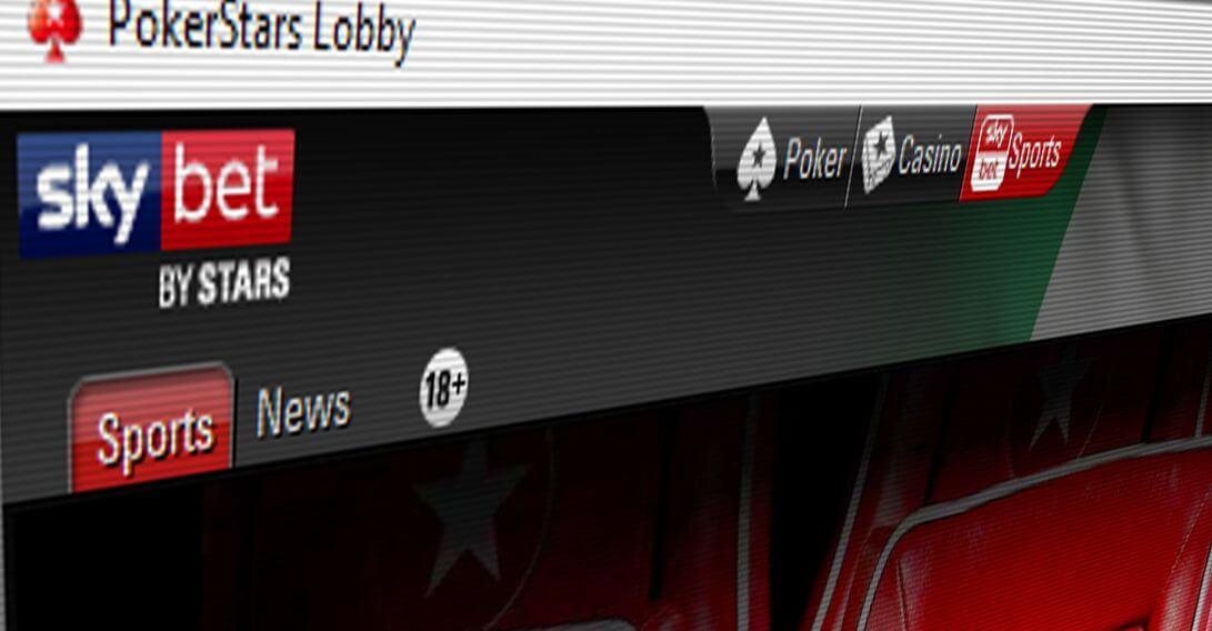 Sky Bet si trasforma in PokerStars Sports