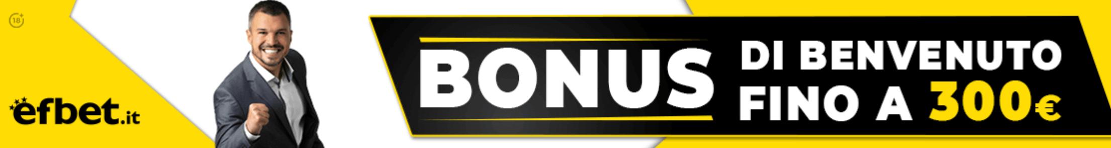 Efbet Bonus Benvenuto