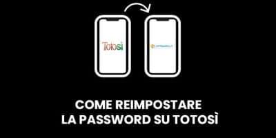 Come reimpostare la password su Totosì